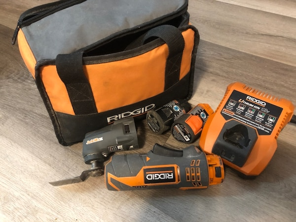 Ridgid multi tool full kit 6