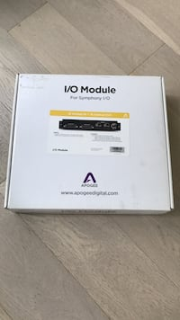 Apogee Symphony I/O Module 16 Analog IN + 16 Optical OUT Vancouver, V6Z 1L7