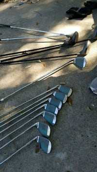 black and gray golf clubs Houston, 77017