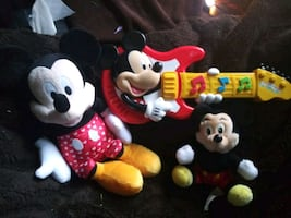 Mickey Mouse Guitar plus 2 Toys