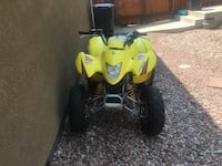 yellow and black ATV ride-on toy