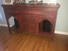 Gorgeous one of a kind hutch with storage!