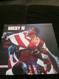 Rocky IV Vinyl. Original Motion Picture Soundtrack Montréal, H3M 2Y4