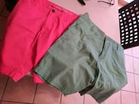 women's two assorted color shorts Los Fresnos, 78566