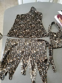 black and white leopard print dress Regina, S4R 4W9