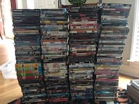 Over 200 DVDs and 3 Blue Rays Kennesaw, 30152