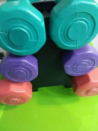 Plastic weights 3132 km