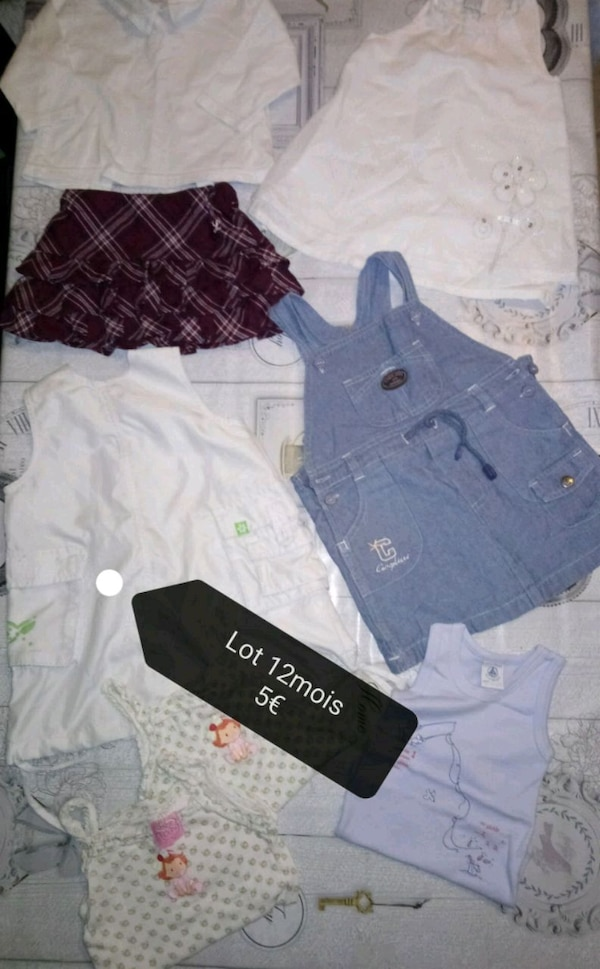 Lot vêtements
