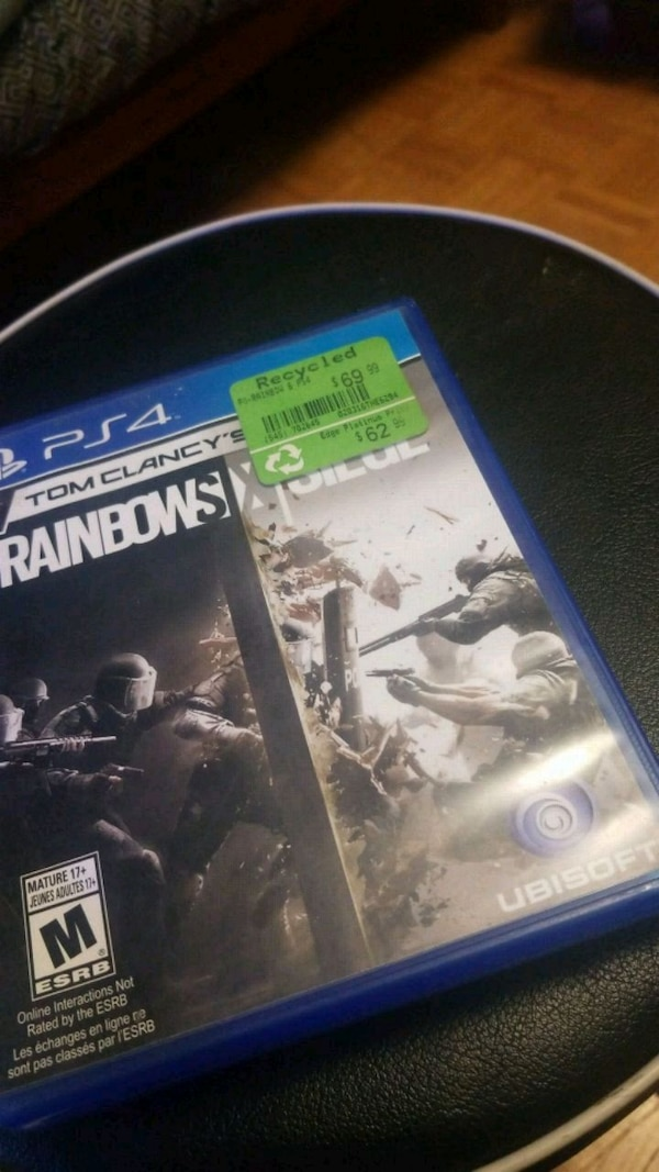 Sony PS4 Tom Clancy's Rainbow Six Siege. HomeSports, Leisure and Games Mississauga