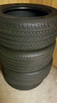 4 used tires 255/55r18 Springfield, 22150