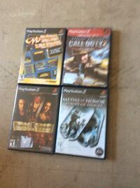 four playstation 2 games Fountain Valley, 92708