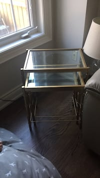 Stacking side table