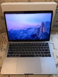 "2016 MacBook Pro 13"" w/ Touchbar 3750 km"