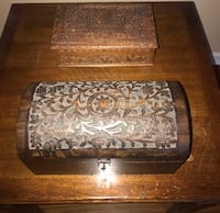 Antique Cherry Wood Boxes Tampa, 33609