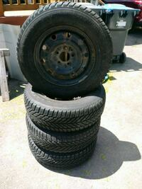 4 TIRES FOR SNOW SEASON AND BED MATS RUBBER Brampton