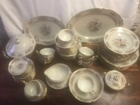 Bavaria 79 pc dish set. Germany. Will split up. Winchester, 22601