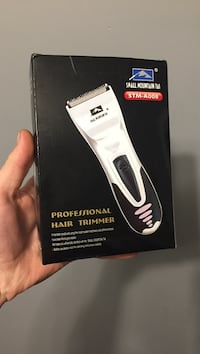 white and black Wahl hair clipper box Mapleton, N0B