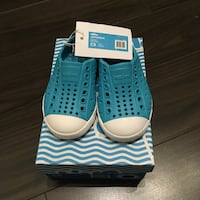 New C5 Native Jefferson toddler shoes (iris blue) Vancouver, V5V