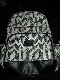 black and white leather backpack Corpus Christi, 78412