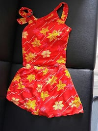 women's red and yellow floral rompers Waterloo, N2L 3V2