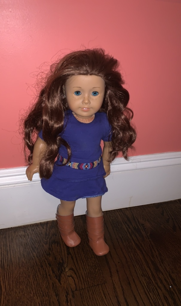 Photo Rare American Girl Doll (Saige)
