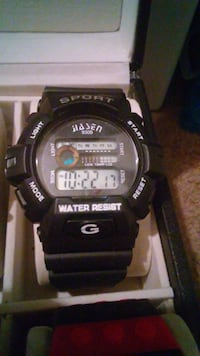 New Hasan Sport G Shock waterproof watch.