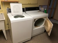 White front load clothes washer and dryer set 多瓦尔, H9P 1J9