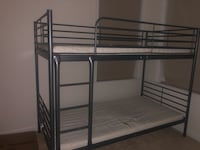 Bunk bed . Mattress not included