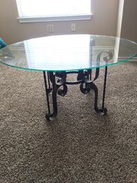 Glass coffee table Norman