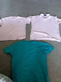 Ralph Lauren polos(size mediums) Owings Mills, 21117