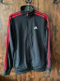 black and red Adidas zip-up jacket Surrey, V3S 7T1