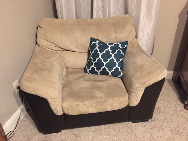 Large one seater sofa chair