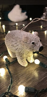 2 Burry Polar Bear Christmas Ornaments Toronto, M6K 3R4
