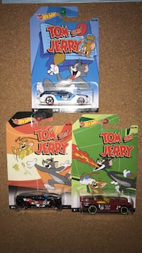 Tom and Jerry hot wheels diecast model car Vaughan, L6A