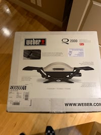 Brand new unused Weber Q 2000 BBQ  Calgary, T3M 1E1