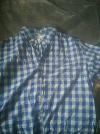 Old Navy LG mens plaid button up Sparks, 89431