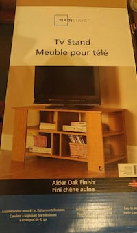 TV stand, new in box
