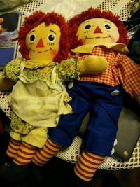 Vintage raggedy Ann and Andy Franklin Park, 60131