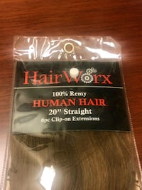"Brand New Human Hair 20"" 6-pc Hair Extensions Mississauga, L5M 4S9"
