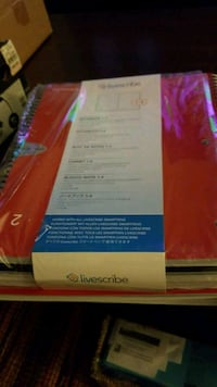 Livescribe  notebooks (6) brand new Fairfax, 22031