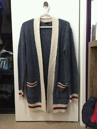 Blue knitted cardigan  3117 km