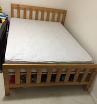 Bed - Full/Double size with Head and Foot board Toronto