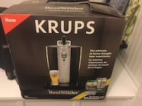 Krups Beer Machine.  Used once.  Great for summertime !!!  Chills the beer so it's cold and delicious Burlington, L7M 1V6