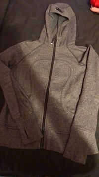 Dark Grey Lulu Lemon Hoodie Surrey