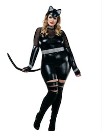 Plus size Cat Burglar women's costume  Rockville, 20852
