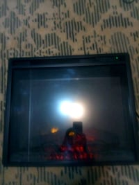 Fireplace warms up any aera in short time