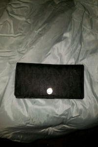 black leather bi-fold wallet Glen Burnie