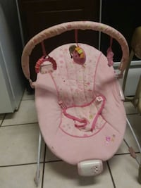 baby's pink and white bouncer Orem, 84057