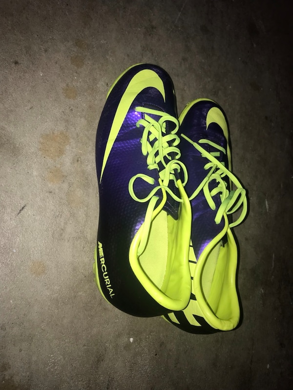 Begagnad Nike Mercurial Turf Indoor Soccer Shoescleats 10 12 15