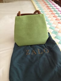 green and black leather tote bag Chevy Chase, 20815